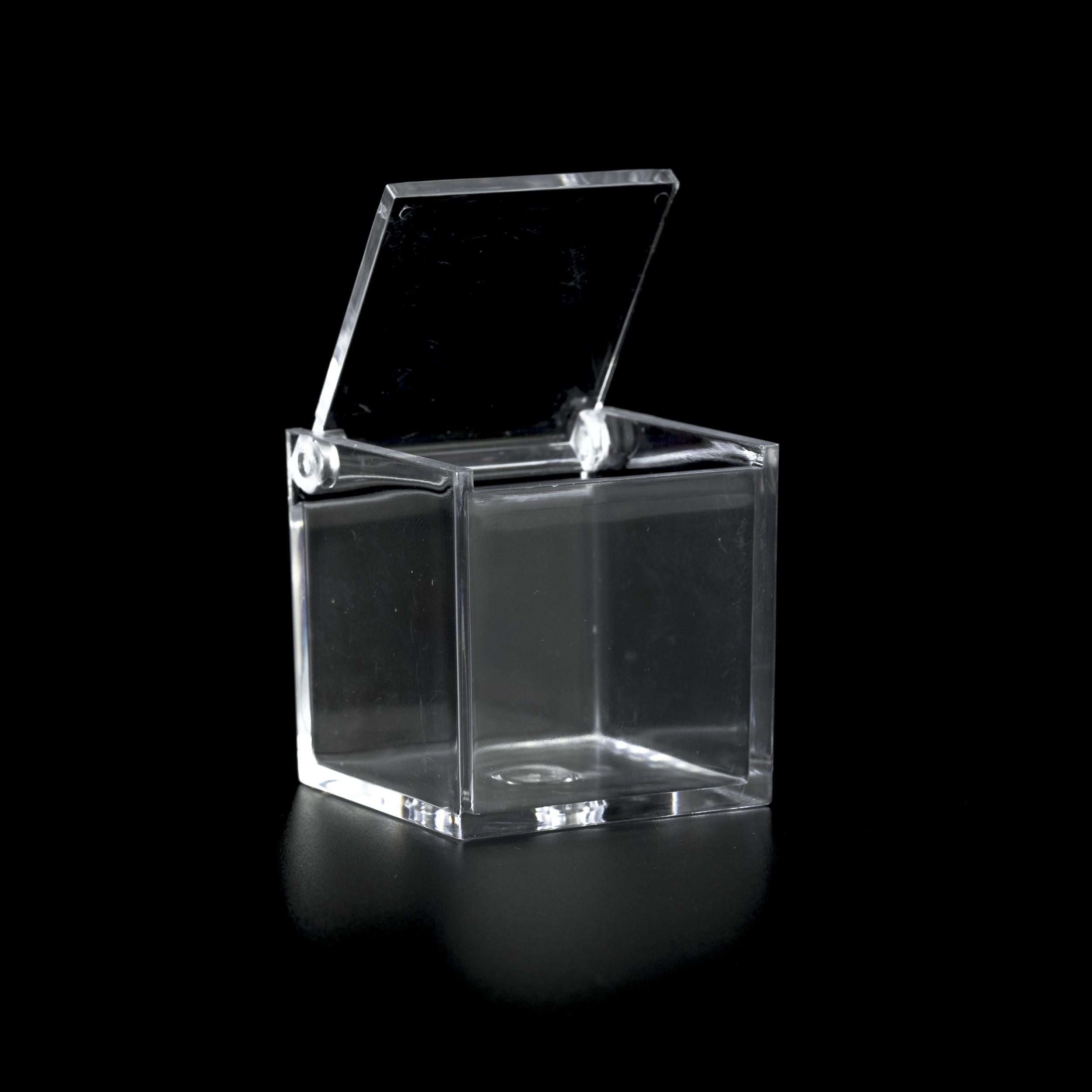 SCATOLA PLEXIGLASS MIS. CM.5X5X5 - Plexiglass - Portaconfetti